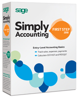 Simply Accounting by Sage First Step 2010